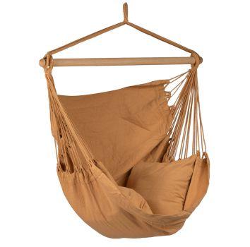 Cadeira Suspensa Individual 'Organic' Mocca