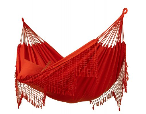 Cama de Rede Dupla 'Sublime' Red