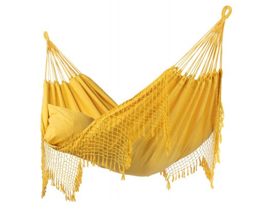 Cama de Rede Dupla 'Sublime' Yellow