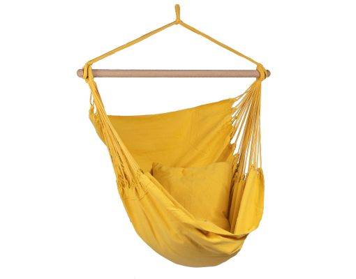 Cadeira Suspensa Individual 'Organic' Yellow